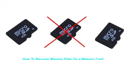 How To Recover Hidden or Missing Files on A Memory Card (or USB Storage)