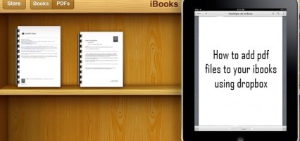 TGIF: How to add pdf files to your ibooks using dropbox (iPad, iPhone, ipod)