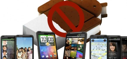 HTC says no android 4.0 for HTC Desire HD