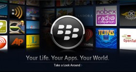 "BlackBerry App World updated, now includes ""update all"" feature."