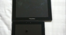 Images of the mythical 10-inch playbook leak