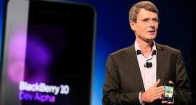 RIM CEO Says BlackBerry 10′s almost ready, platform goes beyond smartphones.
