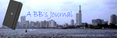 A BB's Journal: Season 2; Episode 3.