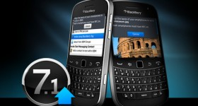 BlackBerry OS 7.1.0.649 leaks for all OS 7 devices