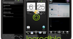 HTC Desire HD gets android 4.0.4 (ice cream sandwich) unofficially.
