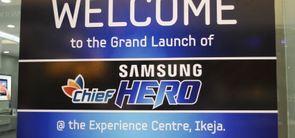 SAMSUNG CHIEF HERO E1500 MEDIA LAUNCH