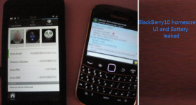 Breaking: BlackBerry 10 home screen, UI and Battery leaked