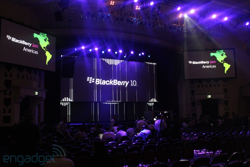 BlackBerry1o Jam Americas