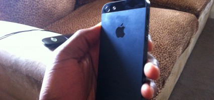 iPhone 5: hands-on, impressions.
