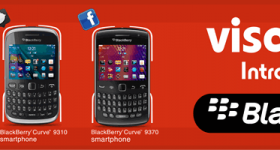 Visafone Nigeria becomes 1st CDMA operator to launch BlackBerry Services, Starts on Friday.