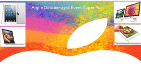 Apple October 23rd Event Super Post: All the details!!!