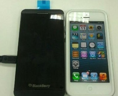 BB10 L-series vs iPhone 5