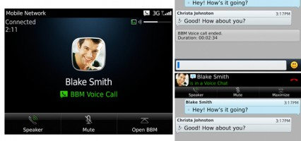 Breaking: RIM introduces BBM to BBM voice calls