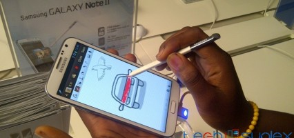 Hands-on and first impressions of the Samsung Galaxy Note 2
