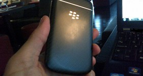 First Live pictures of the physical keyboard BlackBerry N-series leak (updated)