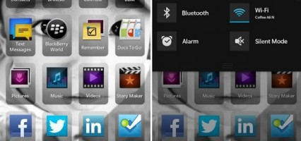 BlackBerry 10 screenshots leak, shows UI, native apps and more