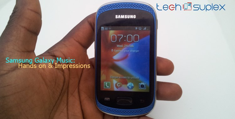 Samsung galaxy music hands on techsuplex(ft)