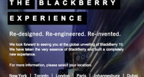 BlackBerry 10 launch invites are out and Techsuplex will be there LIVE!!!