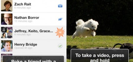 Facebook releases new chat app with a twist: FaceBook Poke