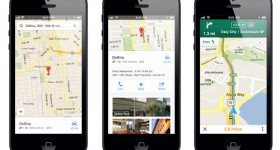 "Google Maps makes ""triumphant"" return to iOs; Adds turn by turn nav and SDK for devs"