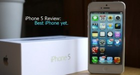 iPhone 5 Review: Best iPhone yet.