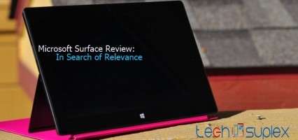 In Search Of Relevance: Living With The Microsoft Surface