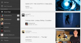 YouTube iOS app now available for iPad; packs a few new features.