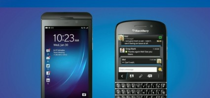 Upclose with the New BlackBerry Q10 and Z10 smartphones (Video)