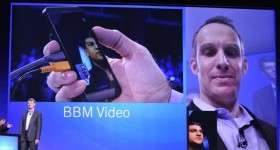 BBM Voice and Video, screen sharing, BlackBerry Remember & StoryMaker features announceded and demoed.
