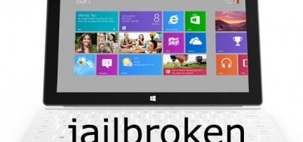 Windows RT Jailbroken: Gains ability to run desktop apps.