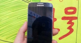 Purported Live Photos of the Samsung Galaxy SIV: hints dual sim capability, 1080p display and more.