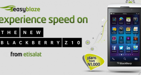 Etisalat Nigeria's BlackBerry 10 Plans now Live