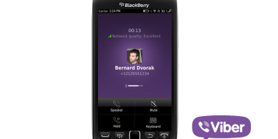 Viber for BlackBerry updated with voice calls over 3G and Wifi