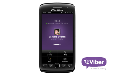 Viber for BlackBerry 2