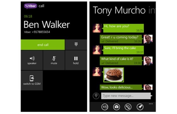 Viber for Windows Phone 8 gets HD voice calling with new update
