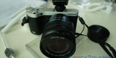 Hands On with the Samsung Nx 3000 camera
