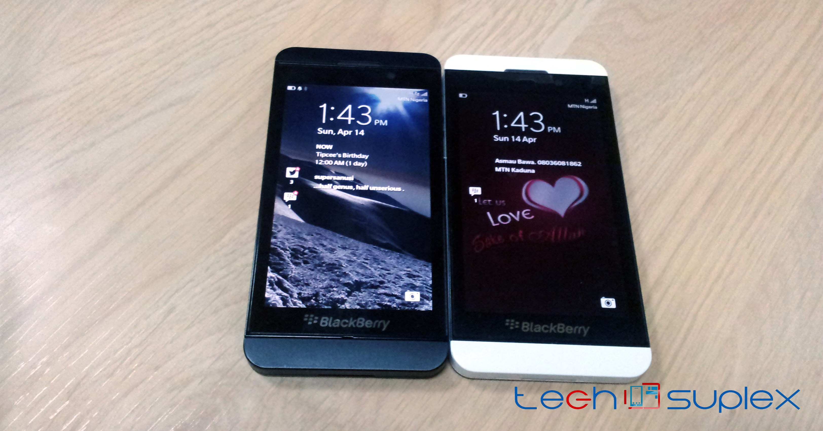 black and white BB z10 techsuplex