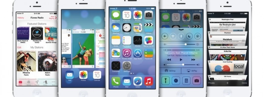 iOs 7: A Breakdown of what is new