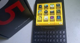BlackBerry Q5 Hands on