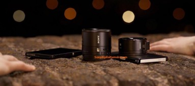 Sony's QX10 and QX100 lenses would transform your smartphone to a high-end camera