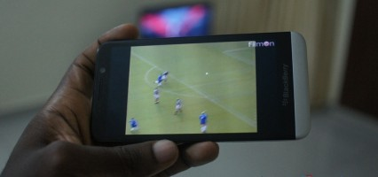 Watch Satellite Tv on your BlackBerry 10 phone with Film ON