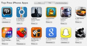 BBM is Off to a Hot start: No 1 on Apple App store in more than 75 countries