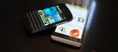 How to get the Google Play service and other Android App Stores running on a BlackBerry 10 device.