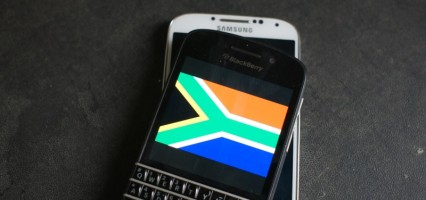 BlackBerry Overtakes Samsung's marketshare in South Africa