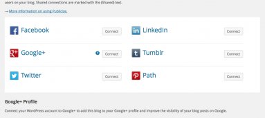 WordPress JetPack flips switch, you can now automatically publicize posts to Google+