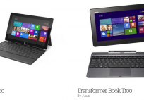 Surface Pro vs Asus Transformer Book
