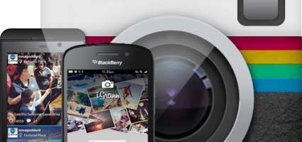 Native instagram client for BlackBerry 10 iGrann, makes its way to BlackBerry World