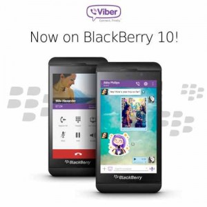 Viber coming to BlackBerry 10 today; Updated for iOS too.