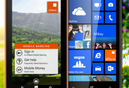 GTBank app for windows phone