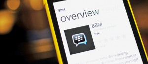 BBM for Windows Phone coming next week, 10k users registered for the beta in 24hrs